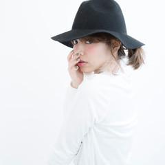 ヘアアレンジ 外国人風 グレージュ ハイトーン ヘアスタイルや髪型の写真・画像