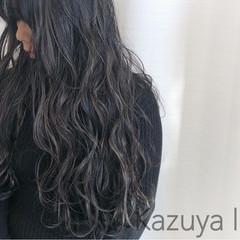 ハイライト グレージュ アッシュ 外国人風カラー ヘアスタイルや髪型の写真・画像