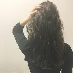 外国人風 暗髪 ストリート ブラウン ヘアスタイルや髪型の写真・画像
