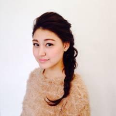 ヘアアレンジ ナチュラル 外国人風 ロング ヘアスタイルや髪型の写真・画像