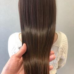 髪質改善 髪質改善カラー ロングヘア ミディアム ヘアスタイルや髪型の写真・画像