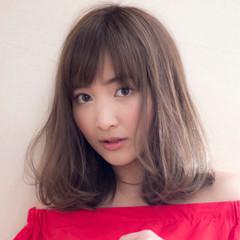 オフィス デート 斜め前髪 女子会 ヘアスタイルや髪型の写真・画像