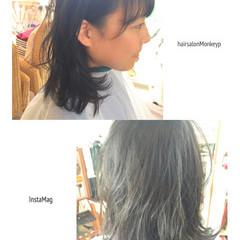 カール ヘアアレンジ 艶髪 ガーリー ヘアスタイルや髪型の写真・画像