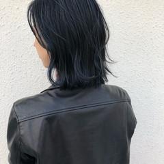 デート ウェーブ ハイライト ゆるふわ ヘアスタイルや髪型の写真・画像