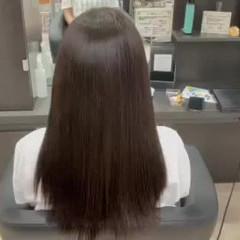 超音波 ナチュラル 髪質改善トリートメント 髪質改善カラー ヘアスタイルや髪型の写真・画像