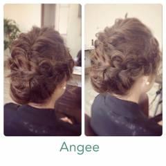 ヘアアレンジ モテ髪 コンサバ 大人かわいい ヘアスタイルや髪型の写真・画像