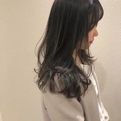 ワンカール 暗髪 ロング モテ髪 ヘアスタイルや髪型の写真・画像