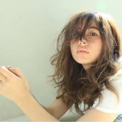 外国人風 モテ髪 ストリート パーマ ヘアスタイルや髪型の写真・画像