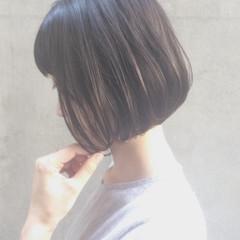 ナチュラル パーマ ボブ デート ヘアスタイルや髪型の写真・画像