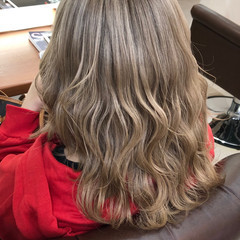 超音波 ダブルカラー ギャル ハイトーンカラー ヘアスタイルや髪型の写真・画像