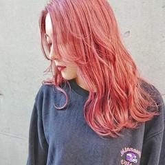 TOKIOトリートメント インナーカラー ロング バレイヤージュ ヘアスタイルや髪型の写真・画像