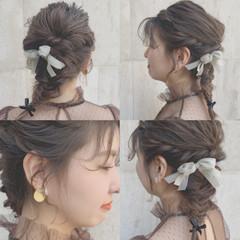 アンニュイほつれヘア 大人かわいい ゆるふわ デート ヘアスタイルや髪型の写真・画像