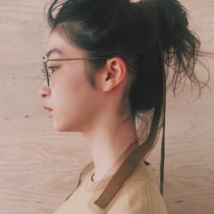 ミディアム アウトドア 簡単ヘアアレンジ スポーツ ヘアスタイルや髪型の写真・画像