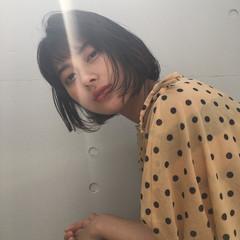 ヘアアレンジ ボブ 女子会 ナチュラル ヘアスタイルや髪型の写真・画像