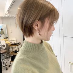 ミニボブ ショートボブ ショートヘア ストリート ヘアスタイルや髪型の写真・画像