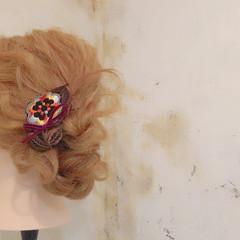 ヘアアレンジ ショート 簡単ヘアアレンジ ロング ヘアスタイルや髪型の写真・画像
