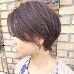 コンサバ 大人ショート ショートヘア 大人かわいい ヘアスタイルや髪型の写真・画像