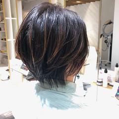 ナチュラル ショートヘア 髪質改善トリートメント ナチュラル可愛い ヘアスタイルや髪型の写真・画像
