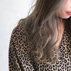 ナチュラル 外国人風カラー ニュアンス グラデーションカラー ヘアスタイルや髪型の写真・画像