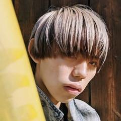 ショートヘア ローライト モード マッシュ ヘアスタイルや髪型の写真・画像