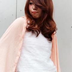 大人女子 コンサバ フェミニン セミロング ヘアスタイルや髪型の写真・画像