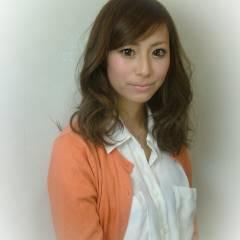 ゆるふわ モテ髪 フェミニン ナチュラル ヘアスタイルや髪型の写真・画像