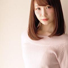 ガーリー 艶髪 オフィス 大人女子 ヘアスタイルや髪型の写真・画像