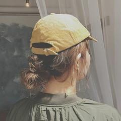 ミディアム アウトドア スポーツ 大人かわいい ヘアスタイルや髪型の写真・画像