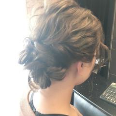 ヘアアレンジ ロング 外国人風 イルミナカラー ヘアスタイルや髪型の写真・画像