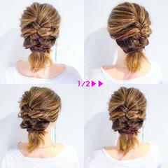 デート ボブ リラックス 結婚式 ヘアスタイルや髪型の写真・画像