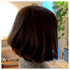 ナチュラル ボブ 色気 ヘアスタイルや髪型の写真・画像