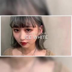 ウルフカット ホワイトブリーチ ハイトーンカラー モード ヘアスタイルや髪型の写真・画像