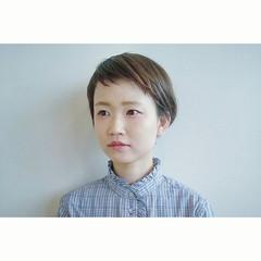 ナチュラル ショート こなれ感 ヘアスタイルや髪型の写真・画像