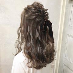 簡単ヘアアレンジ ロング ヘアアレンジ 大人かわいい ヘアスタイルや髪型の写真・画像