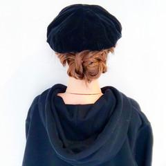ヘアアレンジ ロング エレガント バレンタイン ヘアスタイルや髪型の写真・画像