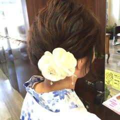 簡単ヘアアレンジ 波ウェーブ 大人かわいい ゆるふわ ヘアスタイルや髪型の写真・画像