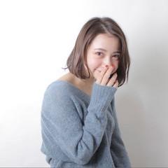 フェミニン ガーリー ボブ 色気 ヘアスタイルや髪型の写真・画像