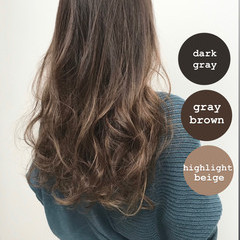 髪質改善トリートメント 大人ロング ナチュラル ブランジュ ヘアスタイルや髪型の写真・画像