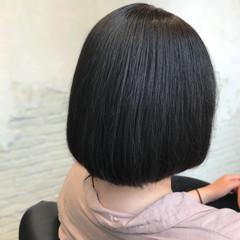縮毛矯正 ストレート ミニボブ ボブ ヘアスタイルや髪型の写真・画像