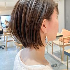 ストレート ショート ショートヘア アンニュイほつれヘア ヘアスタイルや髪型の写真・画像