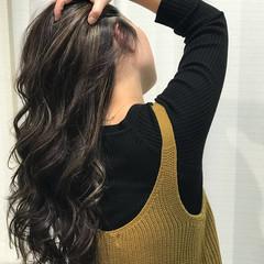 ロング エレガント オフィス デート ヘアスタイルや髪型の写真・画像