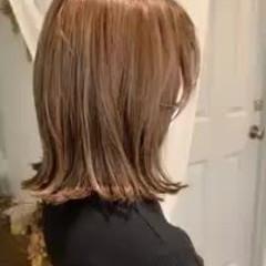 ハイライト アンニュイほつれヘア ナチュラル 前髪あり ヘアスタイルや髪型の写真・画像
