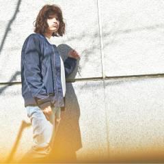 ストレート 春 ボブ ストリート ヘアスタイルや髪型の写真・画像