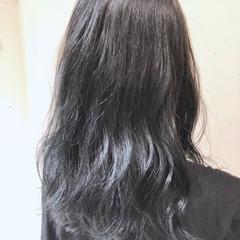 外国人風カラー ゆるふわ ハイライト グラデーションカラー ヘアスタイルや髪型の写真・画像