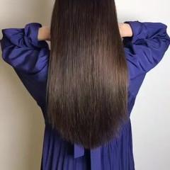 髪質改善トリートメント 縮毛矯正 デート ロング ヘアスタイルや髪型の写真・画像