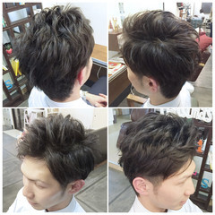 ボーイッシュ ショート ナチュラル モテ髪 ヘアスタイルや髪型の写真・画像