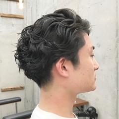 刈り上げショート ショートヘア ナチュラル メンズヘア ヘアスタイルや髪型の写真・画像