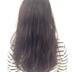 ロング ストリート ウェーブ セミロング ヘアスタイルや髪型の写真・画像