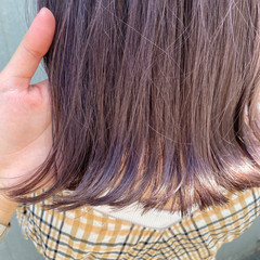 流し前髪 ピンク 髪質改善トリートメント ベージュ ヘアスタイルや髪型の写真・画像