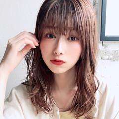 アンニュイほつれヘア ミディアム モテ髪 デート ヘアスタイルや髪型の写真・画像